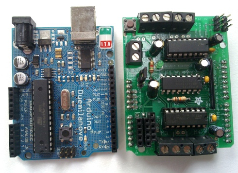 Arduino and Motorshield