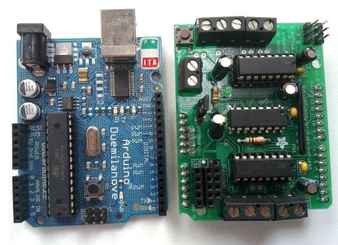 Arduino and Motorshield