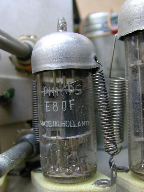 Audio amplifier valve