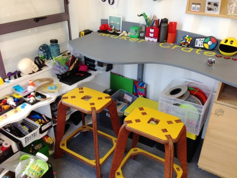 Gear, stools, benches