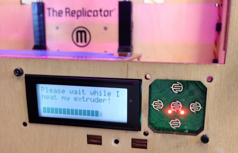 A friendly and polite interface to the MakerBot