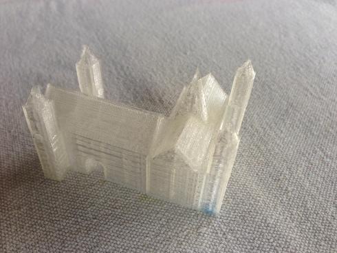 3-D printed model