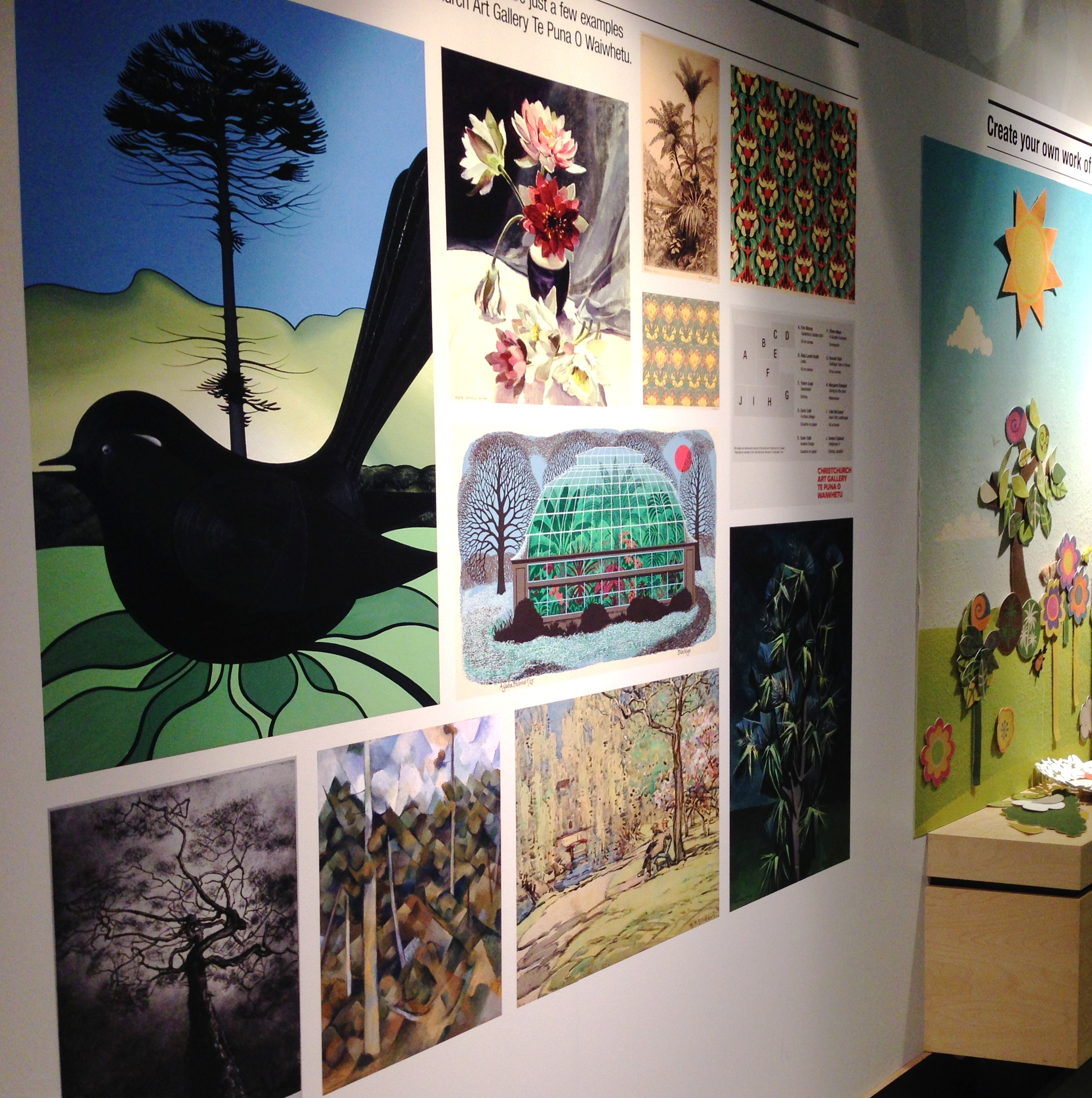 Examples of art inspired by gardens